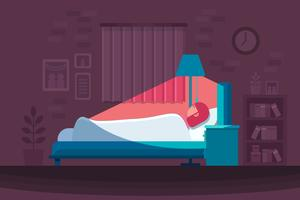 Bedtime Sleeping Vector