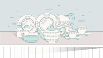 Crockery Vol 3 Vector