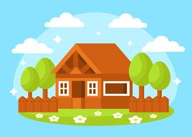 Free Playhouse in the Park Vector