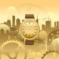 Watch Gold Free Vector