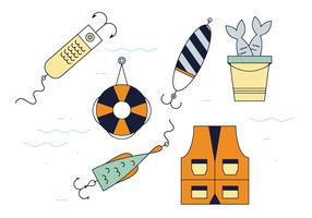 Free Fishing Tackle Vector