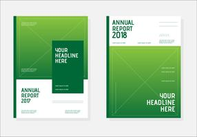 Annual Report Book vector