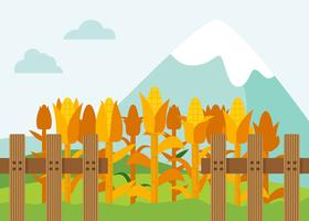 Free Outstanding Corn Stalks Vectors