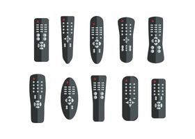 Gratis TV Remote Collection Vector