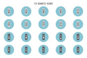 Free TV Remote-Vektoren