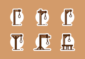 Gallows Gratis Vector Pack