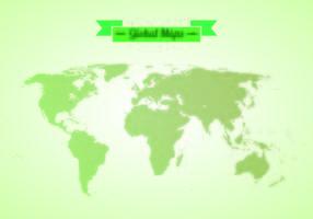 Vektor av globala kartor