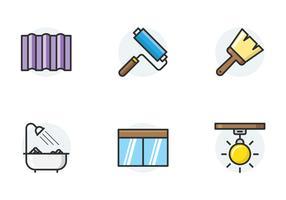 Home reparatie pictogrammen