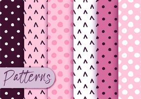 Cute Polka Dot Pattern set