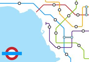 Free Unique Tube Map Vectors