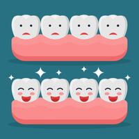 False Teeth Vectors