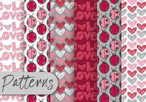 Lady Bug Pattern Set