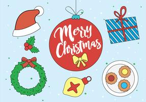 Free Christmas Vector Elements and Icons