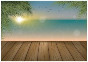 Free Board Walk Vector