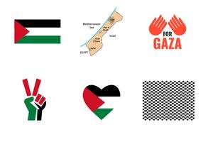 Gaza Symbol Vector