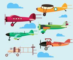 Cartoon Plane Vector