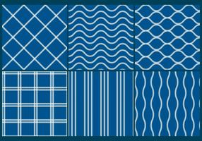 Blue-fishing-net-patterns
