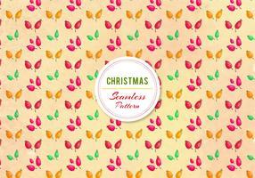 Kostenloses Vektor Weihnachten Muster