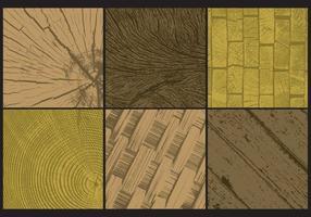 Texturas de madera Grunge