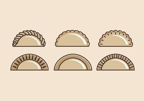 Empanadas Vector Illustrations