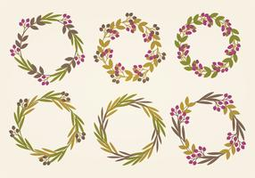 Vector Wreaths Collection