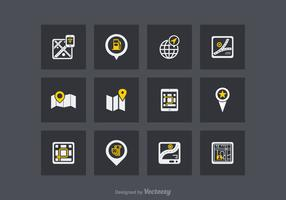 EARMARKED FOR VD Free Navigation Vector Icons