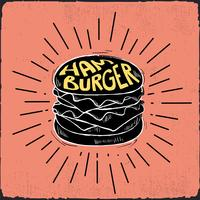 Hand getrokken Vector Fast Food illustratie
