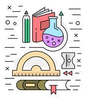 Linear Education Vector Icons