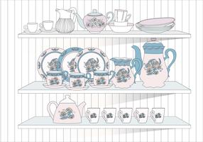 Crockery Vol 2 Vector