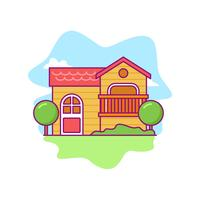 Free vector playhouse
