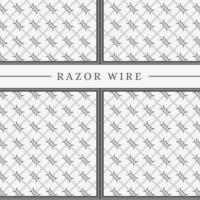 Razor Wire Vector