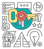 Gratis pictogrammen voor zakelijk succes