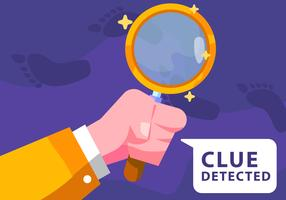 Clue Detected vector