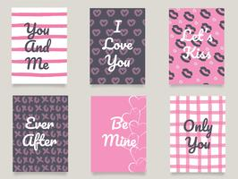 Pacchetto di carte di San Valentino