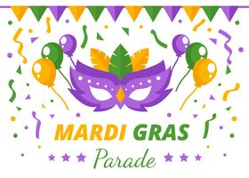 mardi gras masquerade parade background