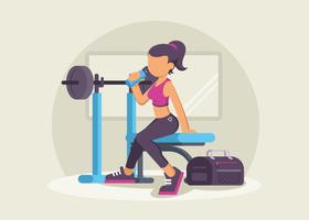 Stylish Fitness Trainer In The Gym