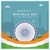 Ilustración del Día de la República