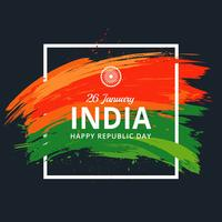 Happy Republic Day Background vector
