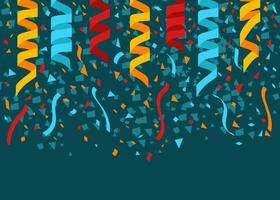 Conffetti Party Background