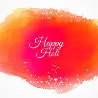 gelukkige holi kleurrijke inkt achtergrond