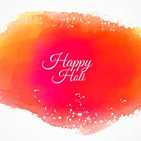 happy holi colorful ink background
