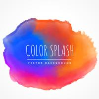 colorful ink splash stain vector design illustration