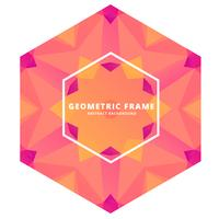 abstract geometric frame