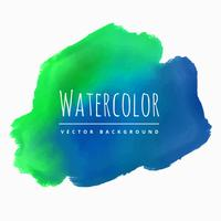 watercolor blue green stain background vector design illustratio