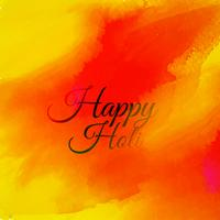 orange ink background of holi festival