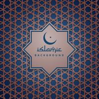 Design de padrão de fundo islâmico