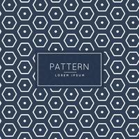 elegante modelo de padrão hexagonal