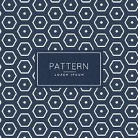 stylish hexagonal pattern template