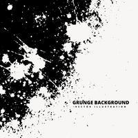 Ilustración de diseño de fondo de salpicaduras de grunge