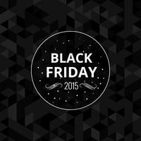 Fundo preto do projeto de sexta-feira de 2015